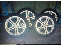 """17"""" Mercedes alloy wheels"""