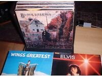 40 LP'S RECORDS;ROCK & POP;60'S -80'S IN CARRY CASE;£20 TO CLEAR