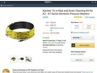 Karcher 15 m Pipe and Drain Kit