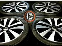 "17"" Genuine VW GTI/GTD Seattle alloys, premium matching tyres."