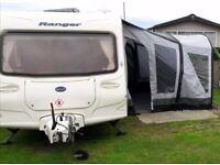 2005 Bailey Ranger 550/6 Touring Caravan 6 berth & inflatable awning