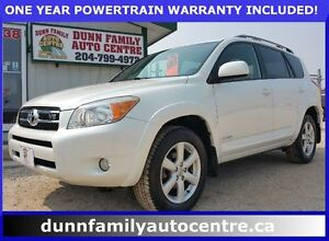 2008 Toyota RAV4 Limited Model!  CLEAN CARPROOF!