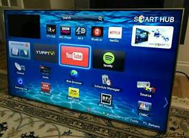 46in Samsung SMART 3D LED TV WI-FI FREEVIEW/SAT HD Skype Cam