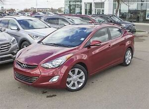 2013 Hyundai Elantra Limited | Navi | Bluetooth | Heated Seats |
