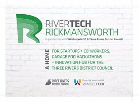 Rivertech, Rickmansworth - check out new affordable coworking hub - prices start from £65pm