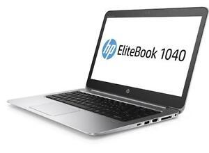 HP EliteBook Folio 1040 1030 1020 G3  i7-i5 8gb 16gb 256ssd Touch 2560 x 1440 HD NEW SEAL