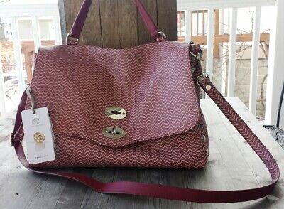 Zanellato Italy Postina Blandine Leather Satchel Mauve Purple – New