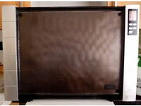 """""""AIRFORCE"""" WALL MOUNTED PANEL HEATER WITH THERMOSTATIC CONTROL AND TIMER."""