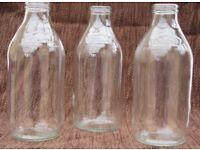 Milk Bottles - Vintage
