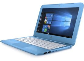 HP Stream 11-y000na Laptop (Aqua Blue) - 32GB with 1-year Microsoft Office 365 subscription