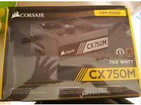 Corsair CX Series™ CX750M — 750 Watt 80 PLUS®Bronze Certified Modular ATX PSU (2015 Edition)