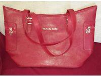 Michael Kors red hand bag (New)