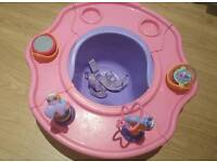 3 in 1 booster/play/feeding seat- summer infant