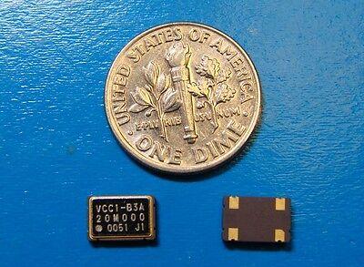 Vectron 20mhz Cmos Vcc1-b3a-20m000 5x7mm Qty.10