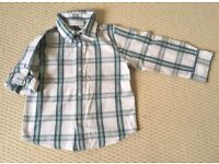 THE WHITE COMPANY BOYS SHIRT SIZE3-4 YEARS