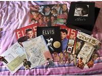 Elvis Presley Collectables Memorabilia Items Excellent Condition