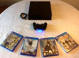 PS4 + Controller + 4 Games