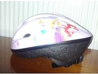 Girls Disney cycle helmet