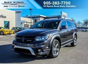 2017 Dodge Journey CROSSROAD AWD, 7 PASSENGER, REMOTE START, BLU