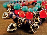 Hand-Crafted Gemstone Bracelets by own it jewellery (FREE UK DELIVERY)