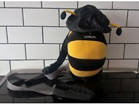 LITTLE LIFE DAY SACK/ BACK PACK 'BUMBLEBEE - PARENT STARP AND RAINHOOD