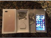 iPhone 7 Plus 128gb white gold