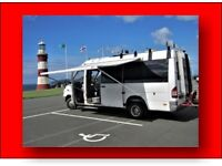 Sm dog welcome, Merc Automatic Campervan Motorhome Caravan-ett hire-rent holiday let Devon Cornwall