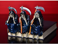 Three 'Wise' Reapers (figurines)
