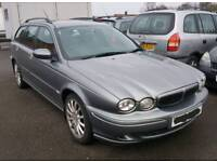 2004 54 JAGUAR X TYPE SPORT 2.0D SPARES OR REPAIRS