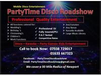 PartyTime Disco Roadshow - mobile DJ, Karaoke, children's entertainment