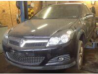 Vauxhall Astra H Black 3 Door Z20R Z16XER breaking for spares.