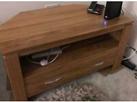 Solid Oak TV Unit/Stand from Oak Furnitureland