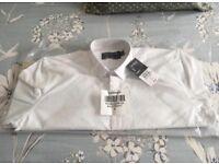 Topshop Men's white shirt