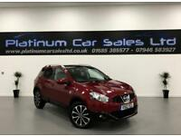 NISSAN QASHQAI N-TEC PLUS IS DCIS/S (red) 2012