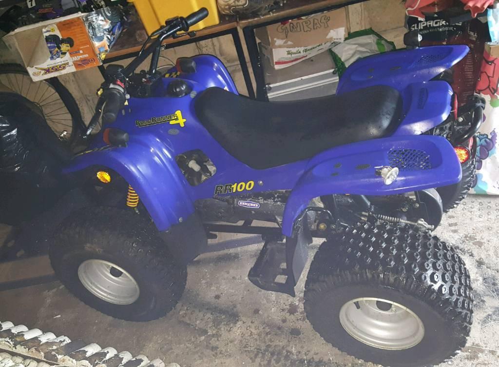 Off road 100cc quad