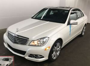 2013 Mercedes-Benz C-Class C 300 4MATIC AWD Luxury Line, Moonroo