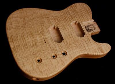 HH Telecaster Body • Mahogany • Flame Maple •/ Tele Body / Pre-Order