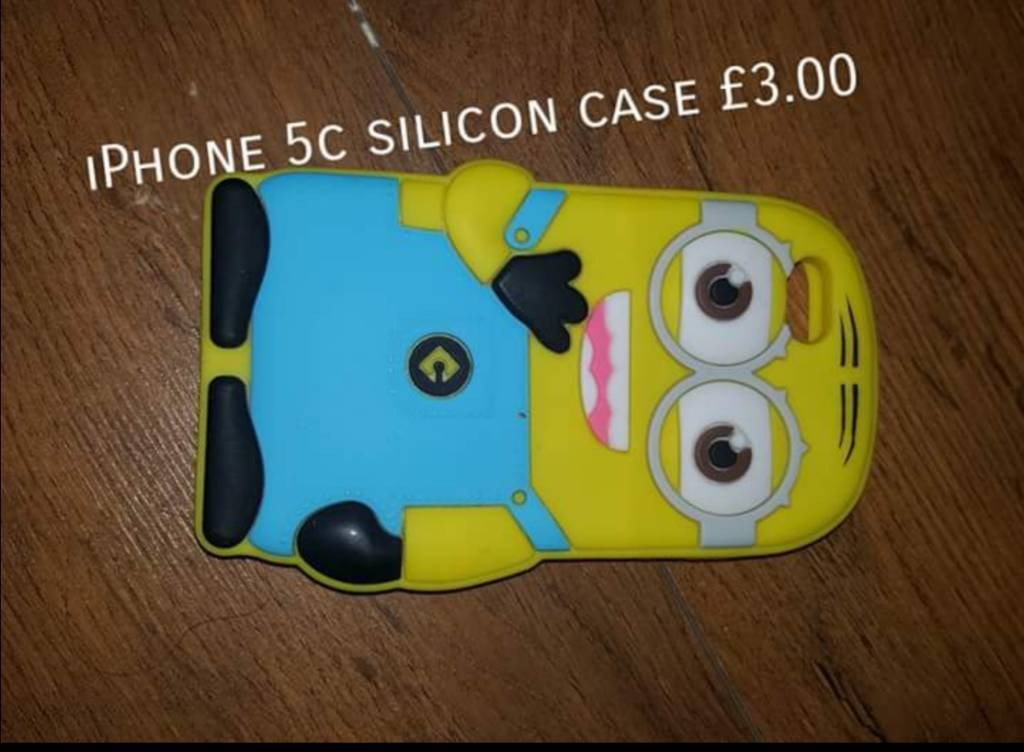 Minion Camera Case : Iphone 5c minion silicon case in stoke on trent staffordshire