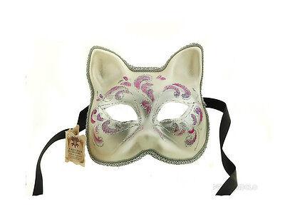 Mask Wolf Civet Cat Authentic Carnival Venice J