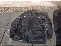 Frank Thomas AquaPore Titanium Waterproof Jacket And Trousers