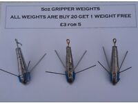 Fishing Weights for kayak, boat, pier or shore (Sinkers) Ready to Collect