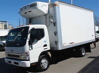 2009 Sterling 360 diesel 14 ft refrigerated box