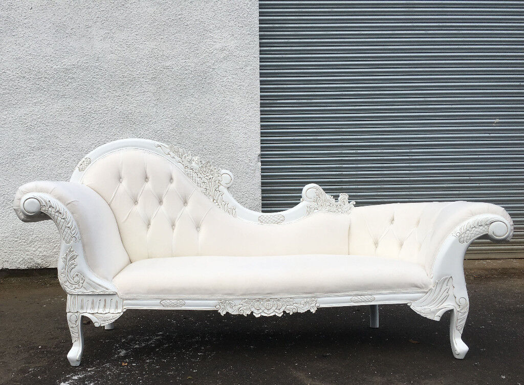 White launge 2 seater sofa DELIVERY AVAILABLE