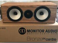 Monitor Audio Bronze BX Centre Oak Finish Centre Channel Loud Speaker