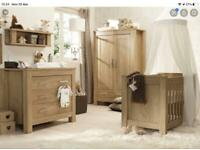 Charnwood nursery furniture set