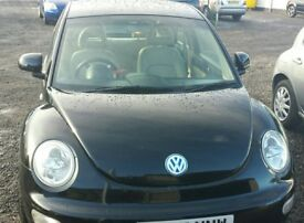VW Beetle - MOT until Oct 2018- good condition, running well, reasonable offers considered