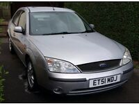 Ford Mondeo 2002 2.0 manual petrol, very reliable, new tyres, brand new CD/Radio. £350 ovno.