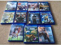 Playstation Games (PS4)