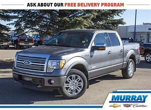 2011 Ford F-150 Platinum *4WD *Leather *Twin Turbo *Sirius XM