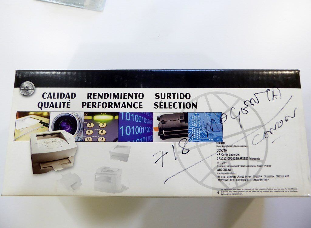 Compatible HP 304A Magenta Toner Cartridge (CC533A) To
